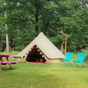 Glamping a Poitiers