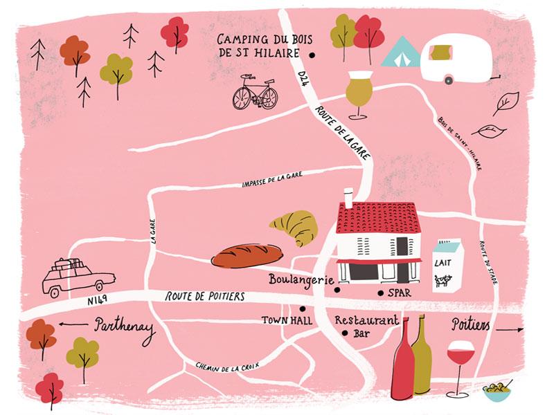 Plan de Chalandray